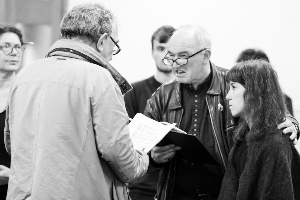Daragh O'Malley, Tim Woodward and Annabel Smith